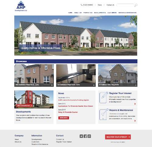 AHP Developments c2015
