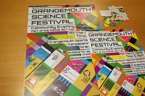 Grangemouth Science Festival Posters